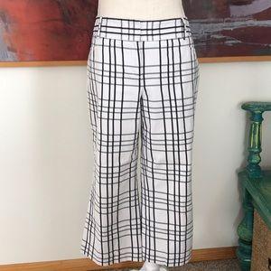 Express wide leg crop pants